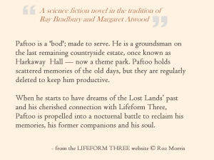 LIFEFORM THREE BLURB SMALLER