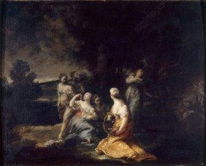 G.M.Crespi, Geburt des Adonis - G. M. Crespi / Birth of Adonis -